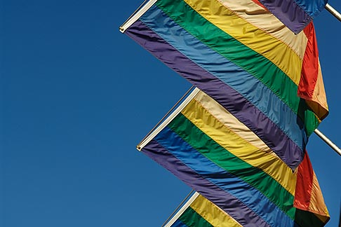 image 6-460-7768 Flags, Rainbow Flags for Gay Pride