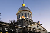 illuminated stock photography | Canada, Montreal, Bonsecours Market, low angle view, image id 6-460-8115