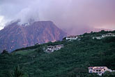 accommodation stock photography | Montserrat, Volcano, View from Old Road Bay, image id 0-150-97