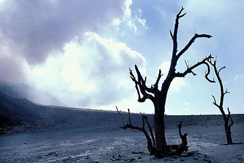 image 0-151-40 Montserrat, Volcano, Pyroclastic flow, Gages