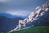 montserrat stock photography | Montserrat, Volcano, Pyroclastic flow and ash cloud above Long Ground, image id 0-151-78