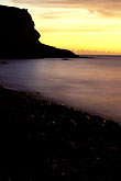 coast stock photography | Montserrat, Sunset, Carr