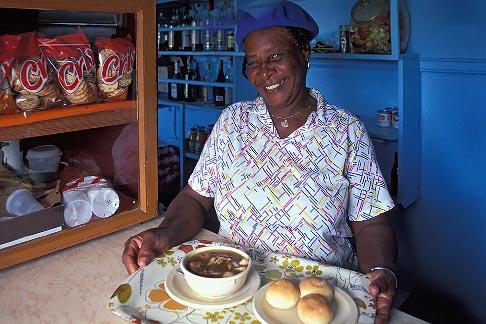 image 0-155-86 Montserrat, Mrs Morgans goat water