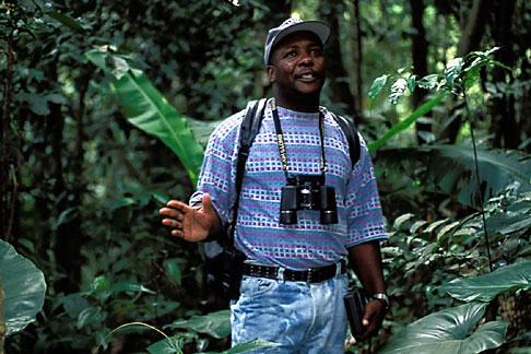 image 0-157-28 Montserrat, Scriber, Forest Service ranger, Fogarty