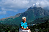 one lady stock photography | Montserrat, Carol Osborne, Vue Pointe Hotel, image id 0-158-77