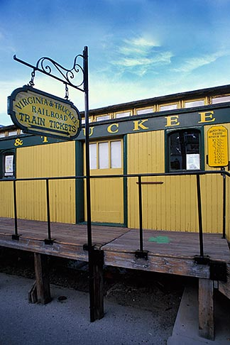 image 0-330-42 Nevada, Virginia City, Virginia City and Truckee Railroad