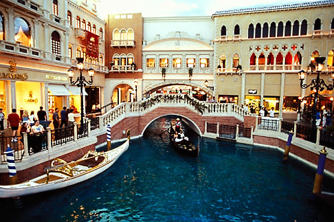 image 3-900-34 Nevada, Las Vegas, Venetian Resort Hotel Casino, Grand Canal