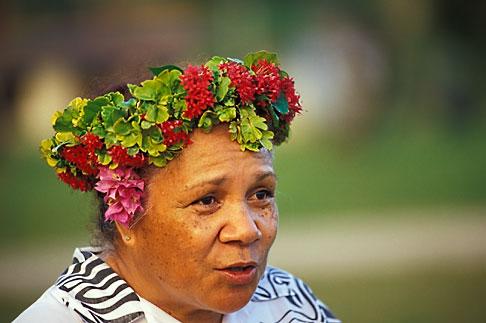 image 9-501-68 Niue, Niuean woman, Hakupu
