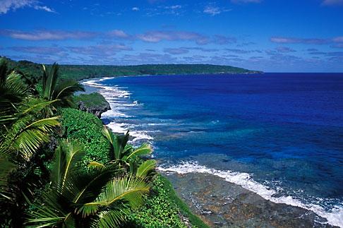 image 9-503-66 Niue, Seacoast from Matavai Resort