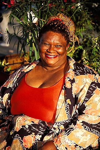 image 3-209-19 California, Alameda County, African American woman, portrait