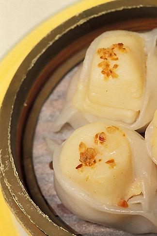 image 4-729-59 Food, Dim Sum, Jumbo Scallop Dumplings Tai Zi Gow