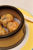 plate stock photography | Food, Dim Sum, Shrimp Dumplings (Har Gow), image id 4-730-54