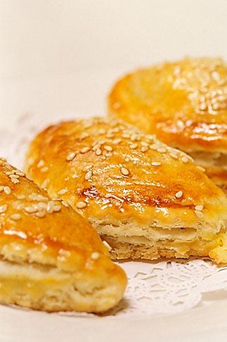 image 4-730-60 Food, Dim Sum, Barbequed Pork Puff