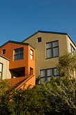 living stock photography | California, Oakland, Oakland Hills, rebuilt house, image id 4-739-5