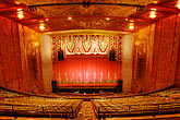 illuminated stock photography | California, Oakland, Paramount Theater, image id 4-740-9