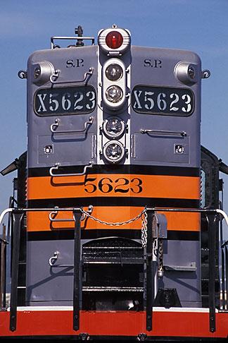 image 6-204-2 California, Oakland, Southern Pacific locomotive