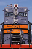 silver stock photography | California, Oakland, Southern Pacific locomotive, image id 6-204-2