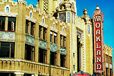 horizontal stock photography | California, Oakland, Fox Theater, image id S5-51-3064