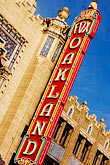 signage stock photography | California, Oakland, Fox Theater, image id S5-51-3075