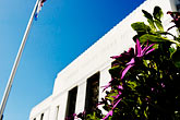 flowers stock photography | California, Oakland, Alameda County Courthouse, image id S5-60-3346