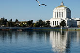 reflection stock photography | California, Oakland, Alameda County Courthouse, image id S5-60-3398
