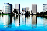 downtown stock photography | California, Oakland, Lake Merritt, image id S5-60-3443