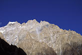 blue sky stock photography | Pakistan, Karakoram Highway, Karakoram peaks near Passu, image id 4-444-7
