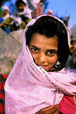 covered head stock photography | Pakistan, Karakoram Highway, Young girl, Gilgit, image id 4-456-12