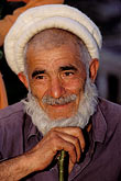 facial hair stock photography | Pakistan, Karakoram Highway, Old Man, Gilgit, image id 4-457-5