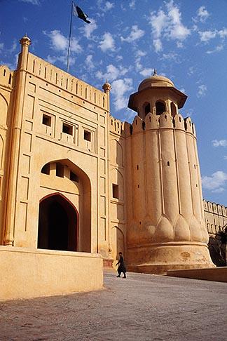 image 4-468-22 Pakistan, Lahore, Alamgiri Gate, Lahore Fort