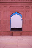 red stock photography | Pakistan, Lahore, Early morning, Badshahi Mosque, image id 4-474-5