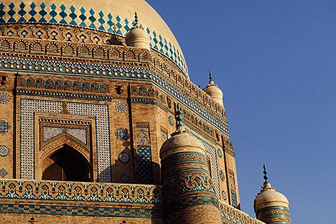 image 4-477-19 Pakistan, Multan, Mausoleum of Shah Rukn e Alam, 1320
