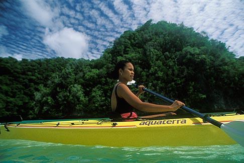 image 8-100-10 Palau, Rock Islands, Kayaking