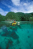 one woman only stock photography | Palau, Rock Islands, Kayaking, image id 8-101-20