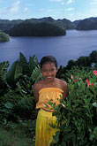 south pacific stock photography | Palau, Portrait of young dancer, image id 8-104-15
