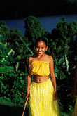 palauan dancers stock photography | Palau, Portrait of young dancer, image id 8-106-27