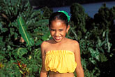 palauan dancers stock photography | Palau, Portrait of young dancer, image id 8-106-29