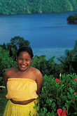 island stock photography | Palau, Portrait of young dancer, image id 8-106-7