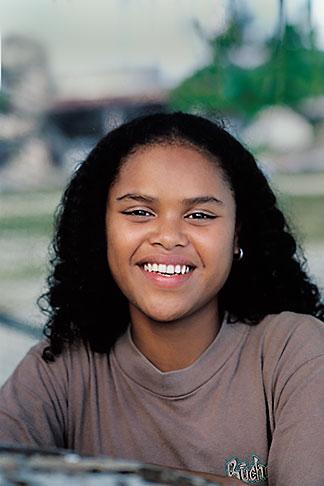 image 8-73-27 Palau, Portrait of a woman