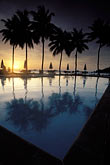 calm stock photography | Palau, Sunset, Palau Pacific Resort, image id 8-80-21