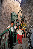 timid stock photography | Palestine, West Bank, Hebron, Palestinian children, image id 9-400-57