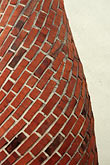 undulate stock photography | Detail, Brick chimney, image id 0-0-87