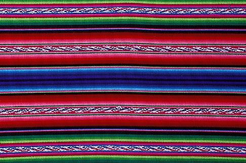 image 3-333-18 Textiles, Blanket, Bolivia