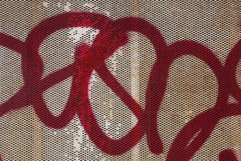 image 6-308-4 Abstract, Grafitti detail