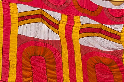 image 6-455-7013 Fabric, Colorful Indian fabrics