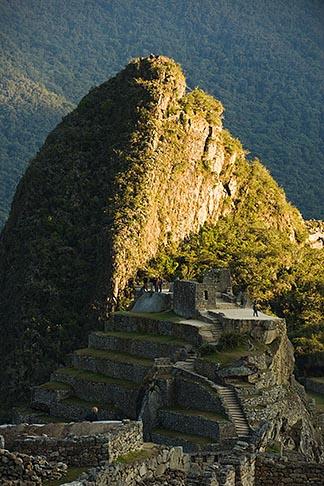 image 8-760-1438 Peru, Machu Picchu, Huayna Picchu peak