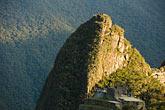 peruvian stock photography | Peru, Machu Picchu, Huayna Picchu peak, image id 8-760-1441