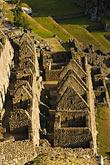 vertical stock photography | Peru, Machu Picchu, Machu Picchu Inca ruins, stone houses, image id 8-760-1445