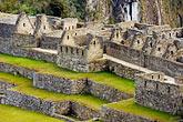 machu picchu inca ruins stock photography | Peru, Machu Picchu, Inca ruins, stone houses, image id 8-760-1479