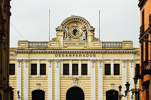 image 8-760-462 Peru, Lima, Desamparados Train Station, front view